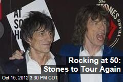 Rocking at 50: Stones to Tour Again