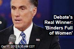 Debate's Real Winner: 'Binders Full of Women'