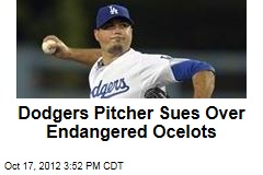 Dodgers Pitcher Sues Over Endangered Ocelots