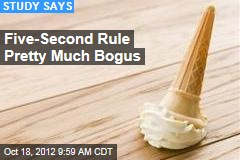 Five-Second Rule Pretty Much Bogus