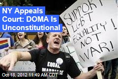 NY Appeals Court: DOMA Is Unconstitutional