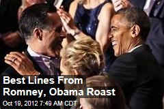 Romney, Obama Yuk It Up