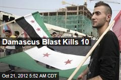 Damascus Blast Kills 10