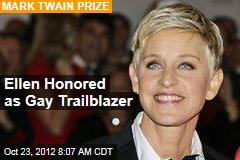 Ellen Honored as Trailblazer With Mark Twain Prize
