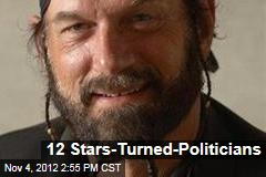 12 Stars-Turned-Politicians