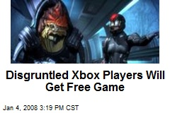 Disgruntled Xbox Players Will Get Free Game