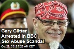 Gary Glitter Arrested in BBC Sex Abuse Scandal