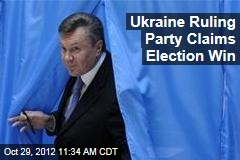 Ukraine Ruling Party Claims Election Win