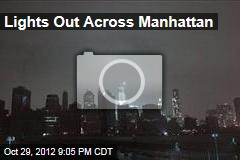 Lights Out Across Manhattan