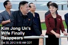 Kim Jong Un's Wife Finally Reappears
