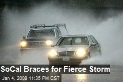 SoCal Braces for Fierce Storm