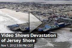Video Shows Devastation of Jersey Shore