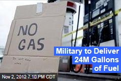 Military to Deliver 24M Gallons of Fuel