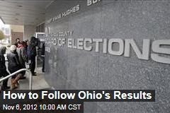 How to Follow Ohio's Results