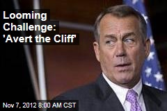 Looming Challenge: 'Avert the Cliff'