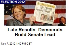 Tester Hangs On in Tight Montana Senate Race