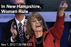 In New Hampshire, Women Rule