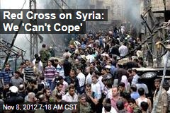 Red Cross on Syria: We 'Can't Cope'