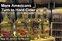 More Americans Turn to Hard Cider
