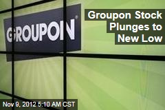 Groupon Stock Plunges to New Low