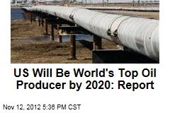 US Will Be World's Top Oil Producer by 2020: Report