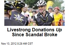 Livestrong Donations Up Since Scandal Broke