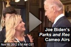 Joe Biden's Parks and Rec Cameo Airs