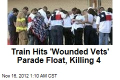 Train Hits Texas Parade Float, Kills 4