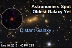 Astronomers Spot Oldest Galaxy Yet