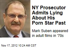 NY Prosecutor Admits Lying About His Porn Star Past