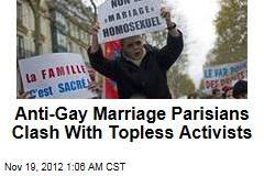 Paris Anti-Gay Marriage March Turns Violent