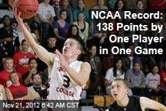 NCAA Record: 138 Points by One Player in One Game
