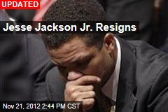 Jesse Jackson Jr. to Resign