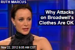 Why Attacks on Broadwell's Clothes Are OK