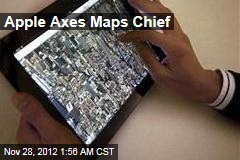 Apple Fires Maps Chief