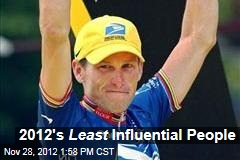 2012's Least Influential People