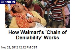 How Walmart's 'Chain of Deniability' Works