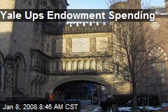 Yale Ups Endowment Spending