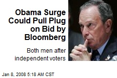 Obama Surge Could Pull Plug on Bid by Bloomberg