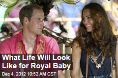 What Life Will Look Like for Royal Baby