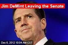 Jim DeMint Leaving the Senate