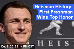 Heisman History: First Freshman Wins Top Honor