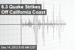 6.3 Quake Strikes Off California Coast