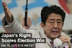 Japan's Right Scores Election Win