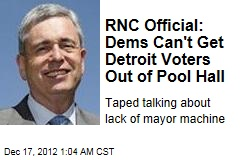 RNC Official Taped Mocking Detroit Voters