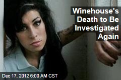 Winehouse's Death to Be Investigated Again