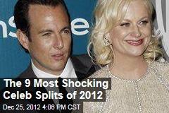The 9 Most Shocking Celeb Splits of 2012