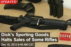 Walmart, Dick's Halt Sales of Rifles