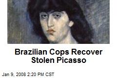 Brazilian Cops Recover Stolen Picasso