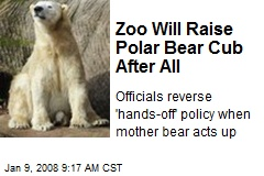 Zoo Will Raise Polar Bear Cub After All